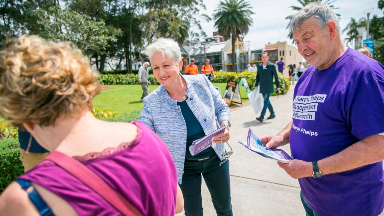 Wentworth by-election win will shatter Liberals' rightward 'lurching': Phelps
