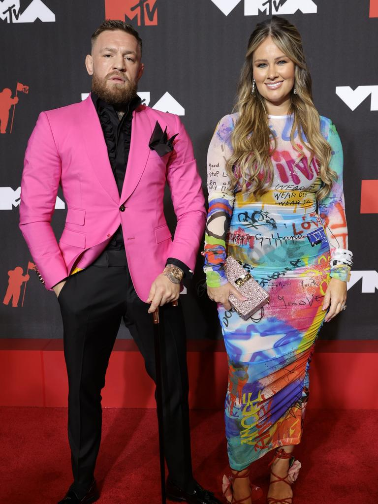 Dee Devlin was by McGregor's side. (Photo by Jamie McCarthy/Getty Images for MTV/ ViacomCBS)