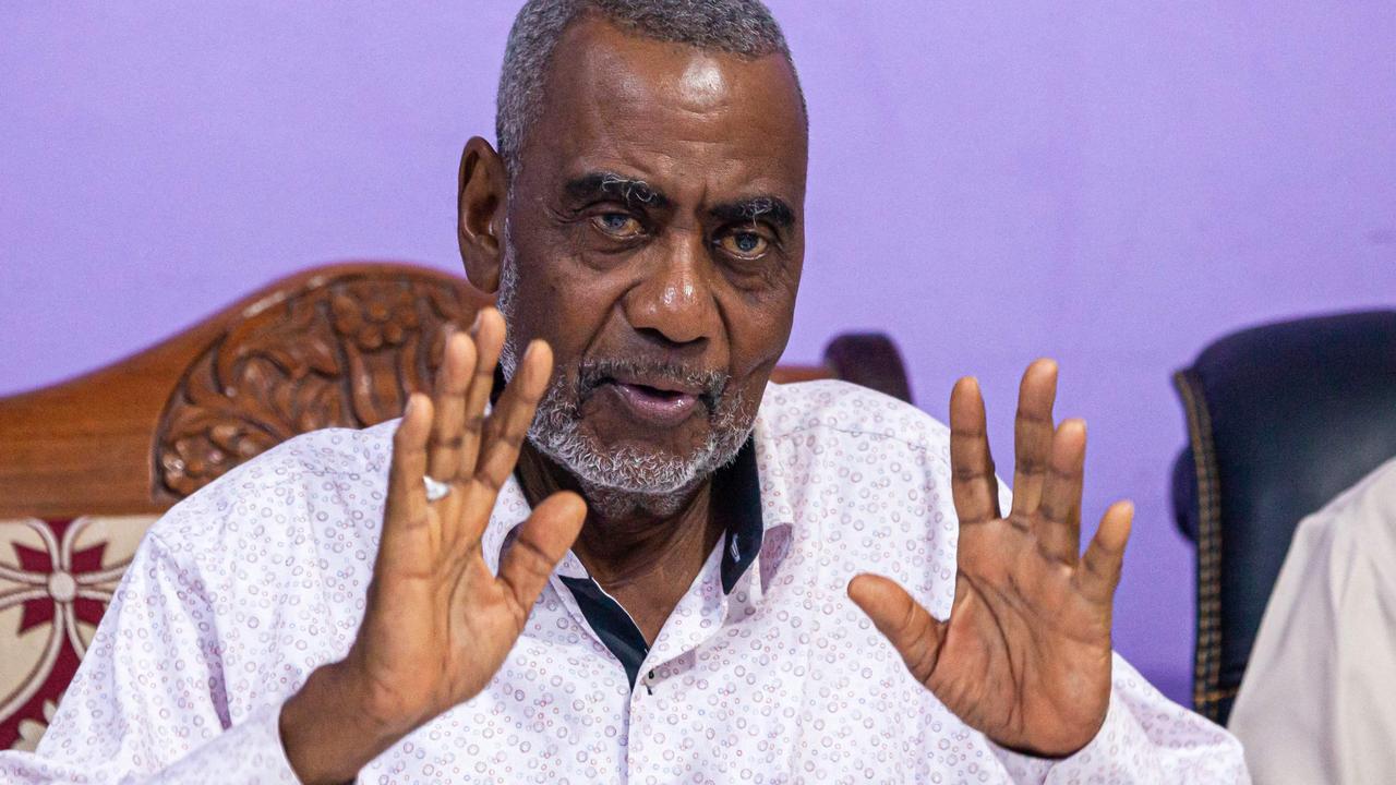 Seif Sharif Hamad, vice president of Tanzania's semi-autonomous island province of Zanzibar, died of COVID-19 last week. Picture: Patrick Meinhardt/AFP