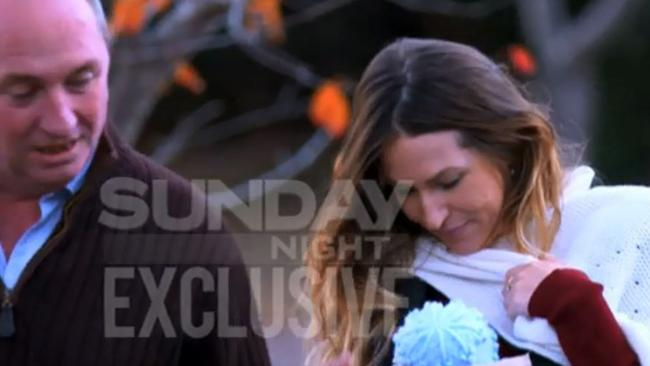 Sunday Night's interview with Barnaby Joyce and Vikki Campion will air this weekend. Picture: Channel 7.