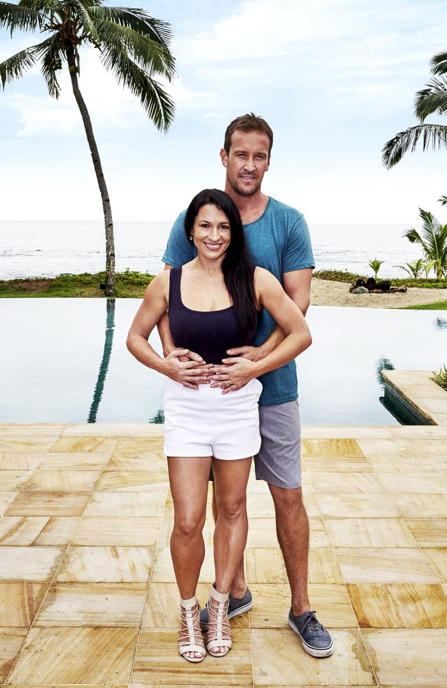 Are Stu and Jodie to good to be true on The Last Resort. Picture: Channel 9