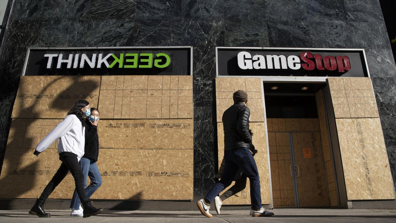 The GameStop stock was made popular with the WallStreetBets Subreddit. Picture: Victor J. Blue/Bloomberg