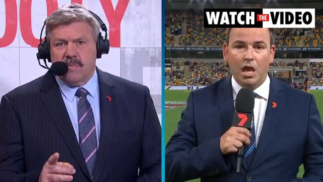 Brian Taylor and Tom Browne clash over Richmond players' breach (7AFL)