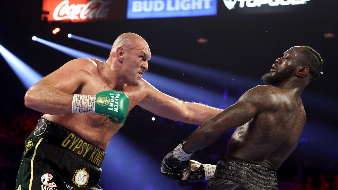 Tyson Fury was dominant in his victory over Deontay Wilder. (Photo by Al Bello/Getty Images)