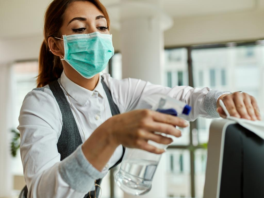 Social distancing and strict hygiene measures are needed to help stop the virus spreading. Picture: iStock.