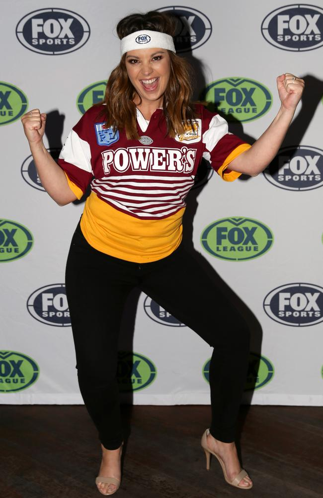 Yvonne Sampson at the Fox League Retro Round launch. Picture: Jonathan Ng