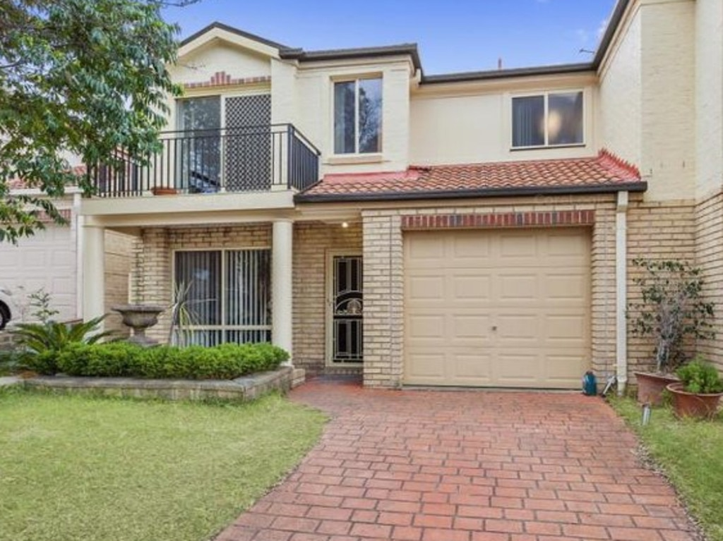 This townhouse at 17 Hester Way recently sold for $800,000