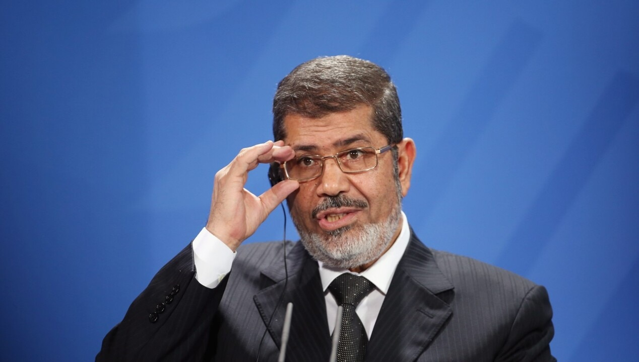 Former Egyptian president dies