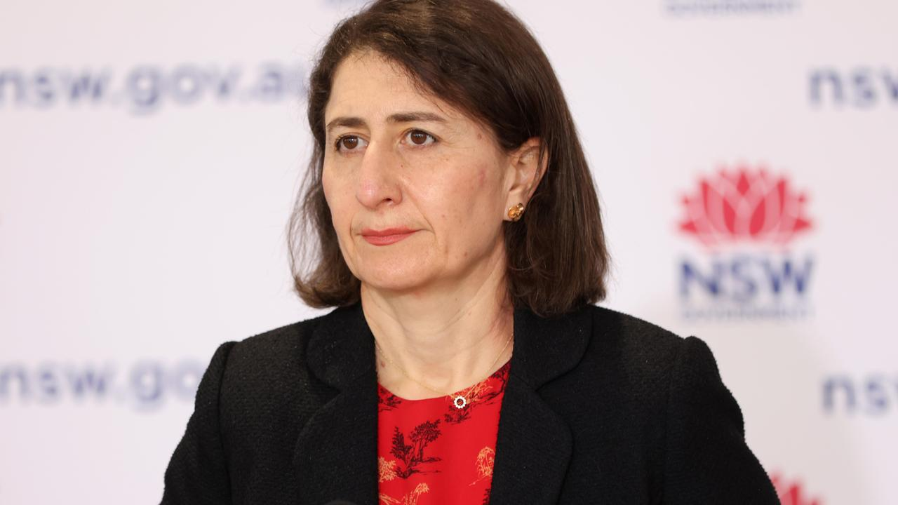 Premier Gladys Berejiklian says October is expected to be NSW's worst month. Picture: Damian Shaw/NCA NewsWire