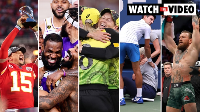 The biggest sporting moments of 2020