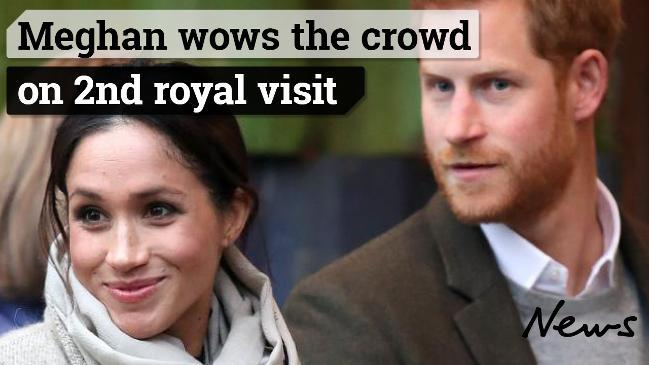 Meghan wows the crowd on 2nd royal visit