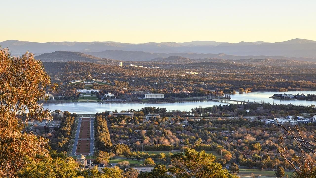 The view from Mount Ainslie in Canberra will take your breath away.