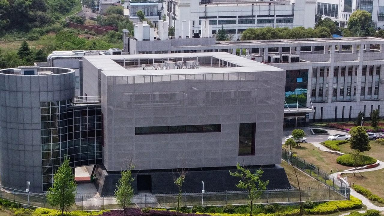The P4 laboratory at the Wuhan Institute of Virology in Wuhan in China's central Hubei province. Experts from the World Health Organisation (WHO) eliminated a controversial theory that COVID-19 came from a laboratory in Wuhan. Picture: Hector RETAMAL / AFP.