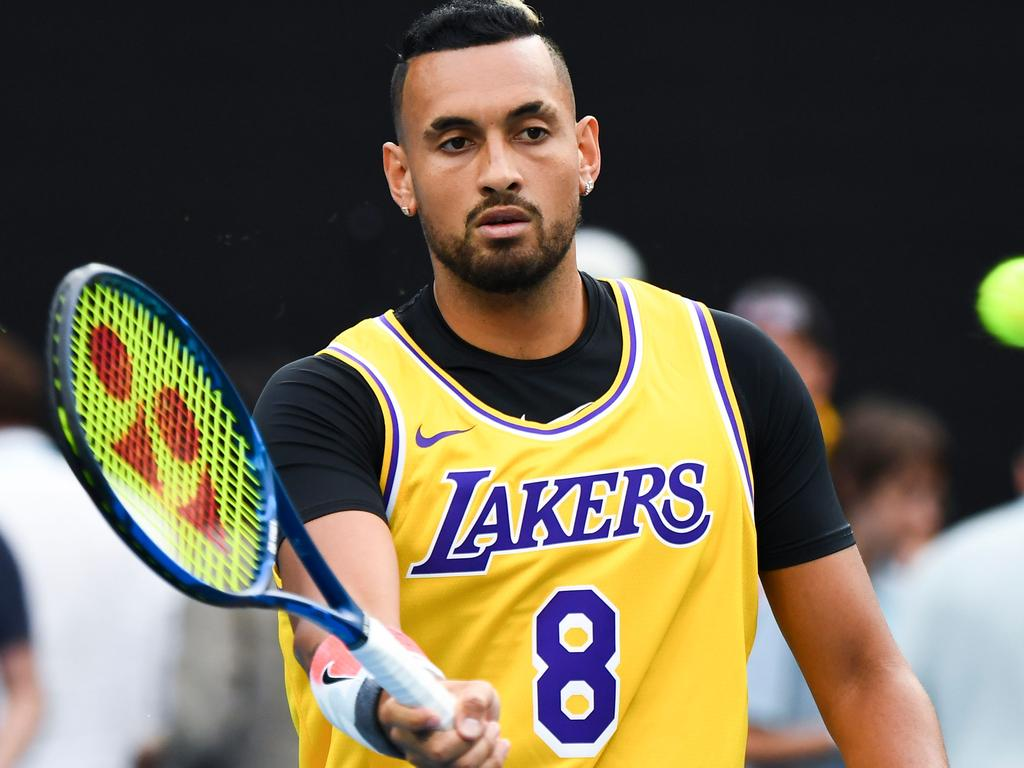 Australia's Nick Kyrgios is out.