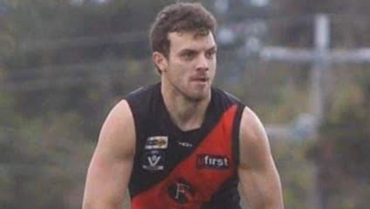 Ben Tournier was a promising footballer with the Frankston Bombers. Picture: FBFNC