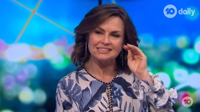 Lisa Wilkinson takes a cheeky dig at her Today days