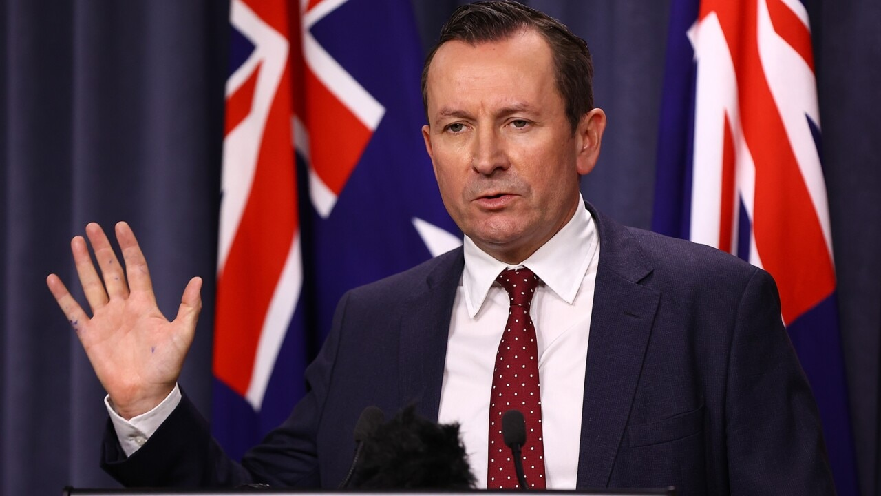 Australia 'needs to eliminate' COVID-19: McGowan