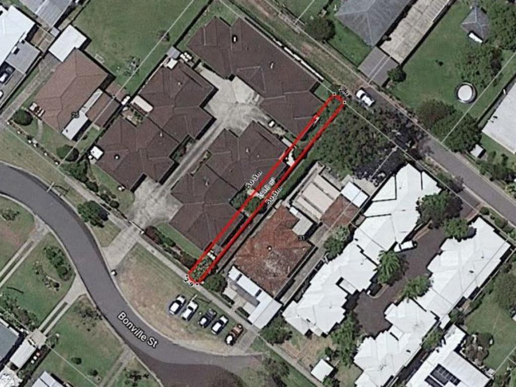 The property is barely visible from Google Maps.