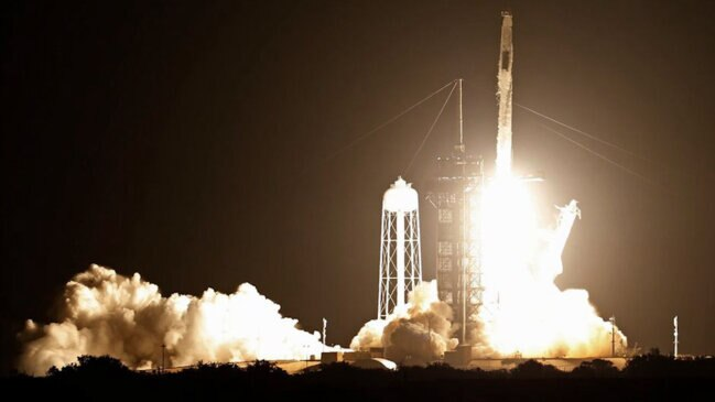 Video: SpaceX Launches Pre-Used Rocket Carrying NASA Astronauts
