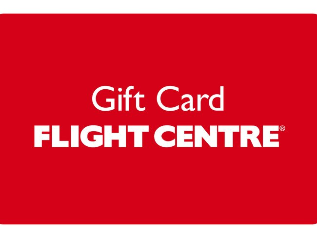 GIFT CARD, FROM $20 FROM FLIGHT CENTRE Don't risk buying an unwanted gift for fussy family members, opt for a versatile gift card instead. This one from Flight Centre can purchased for as little as $20 right up to $4000. And you can choose from both a physical card or an e-Gift card.