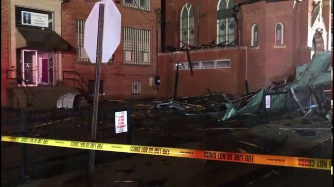 Storm Winds Blow Roof Off Church in Western Pennsylvania