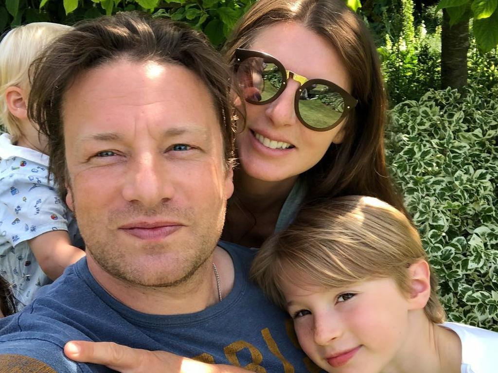 Oliver and wife Jools, who have five children, are thought to be worth around $260 million. Their personal assets are not affected by the bankruptcy.