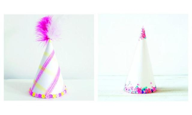 Party DIY: Six simple ways to make your own cute and classy party hats