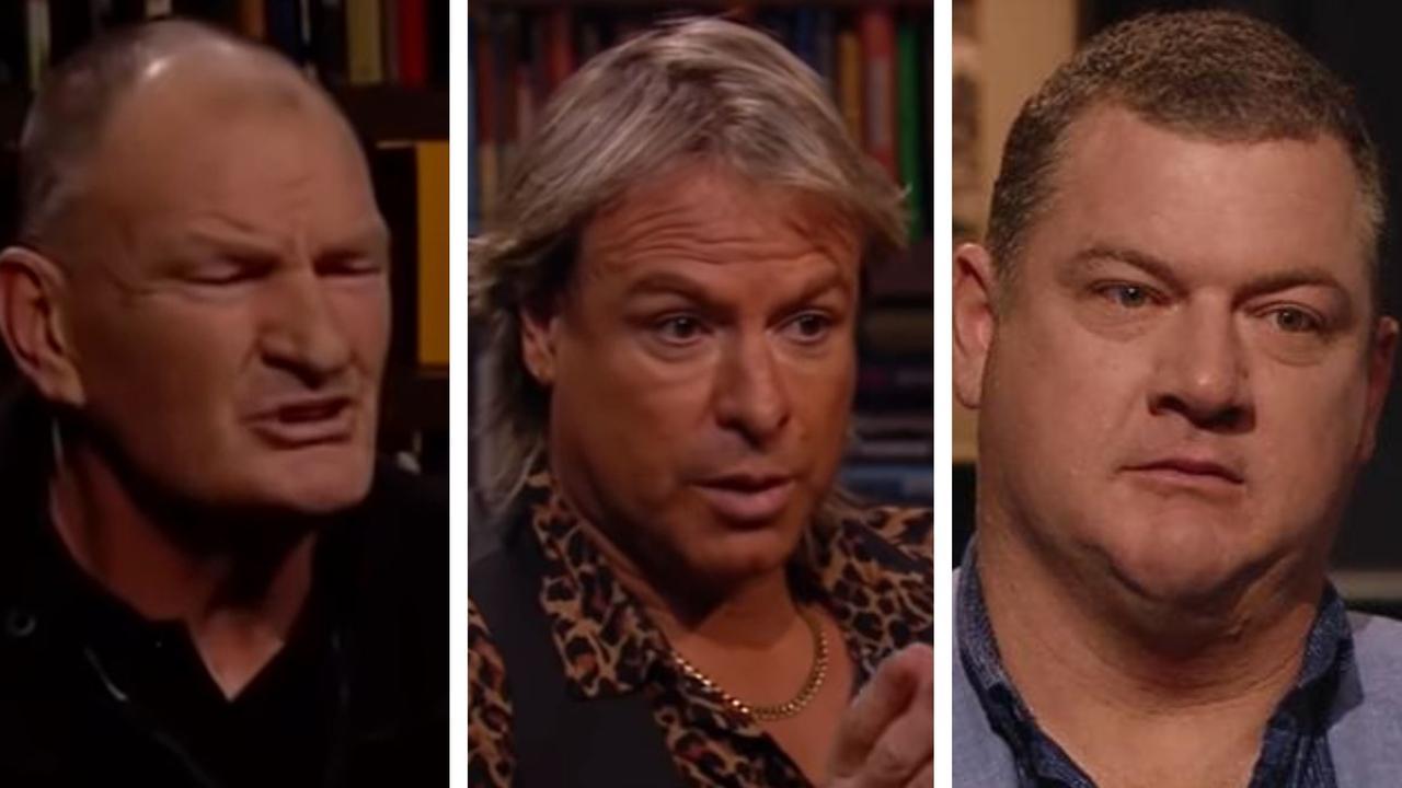 Open Mike: Mark 'Jacko' Jackson, Warwick Capper and Scott Cummings.