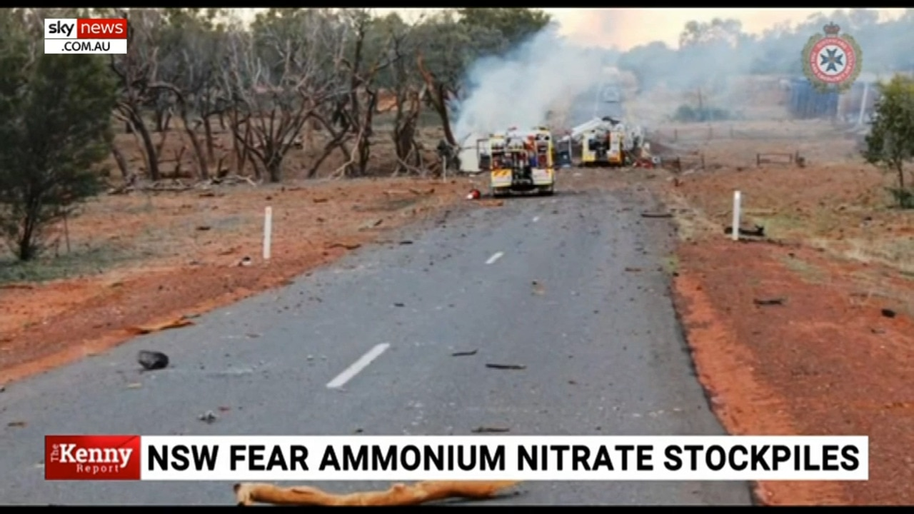 Concerns continue over ammonium nitrate stockpile in Newcastle