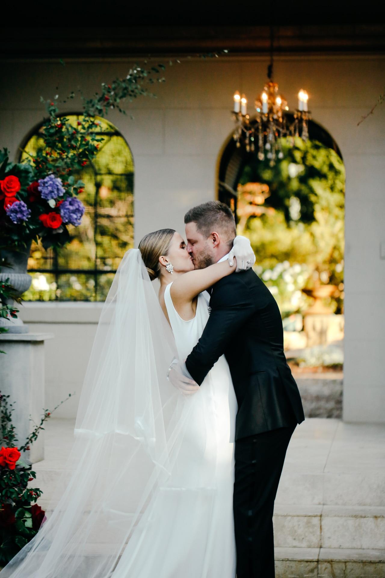 Inside a stylish Italy-inspired wedding