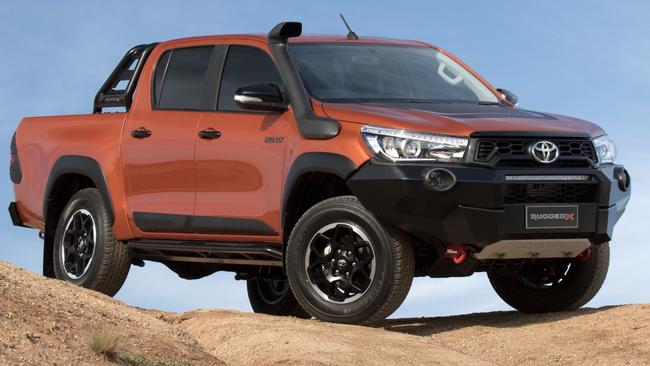 Toyota HiLux Rugged X (2018). Picture: Supplied.