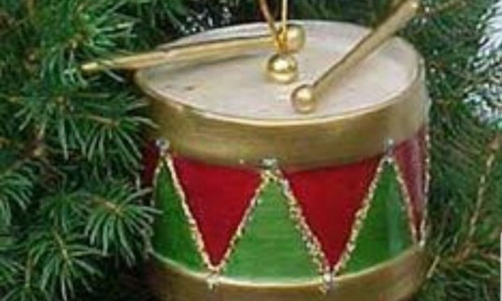 "<b>LITTLE DRUMMER BOY DECORATIONS.</b> These drum decorations bring back so many memories for us – and most have to do with fights with our siblings over who put the most on the tree! <p>Jo remembers: ""Mum and Dad had the drums when I was growing up in the 80s - they were always the fought over decorations to put on the tree, aside from the personally made kindy ones, because they were not just boring baubles. We also used to sing 'pa-rum-pa-pa-pum' every time we put one on.""</p>"