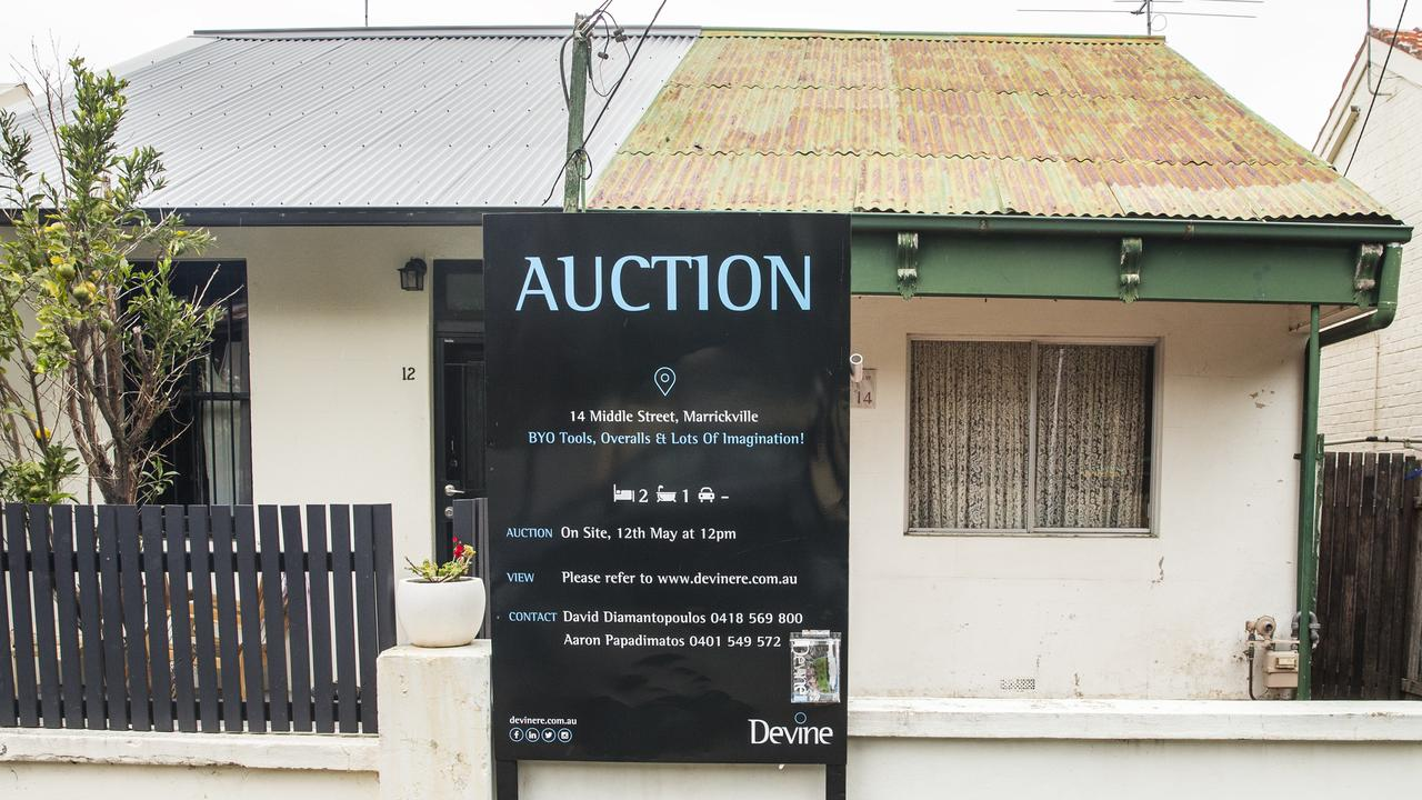 Even buying a dilapidated home in Sydney has become eye-wateringly pricey. But rental affordability has only worsened by 1.5 percentage points over the past 20 years. Picture: Jenny Evans