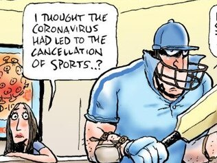 Mark Knight cartoon on the craziness at supermarkets during the coronavirus crisis