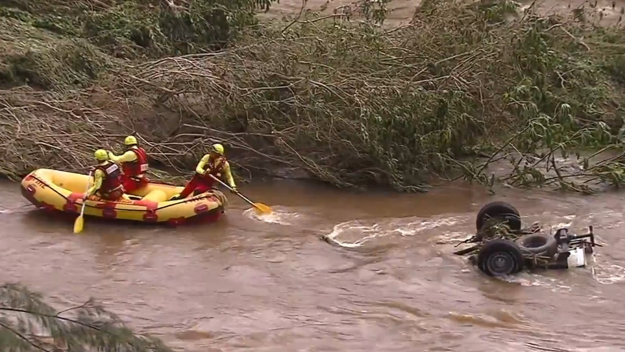 Body found in Qld flood waters identified
