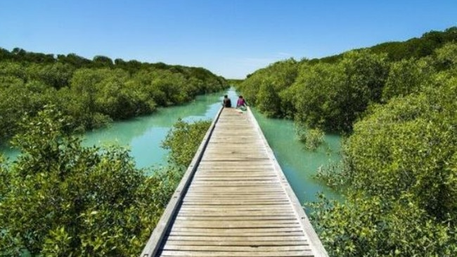 The picturesque Streeter's Jetty. Picture: Edward Tran/Tourism Western Australia