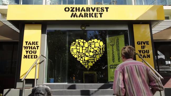 The OzHarvest Market at Kensington, Australia's first rescued food supermarket.