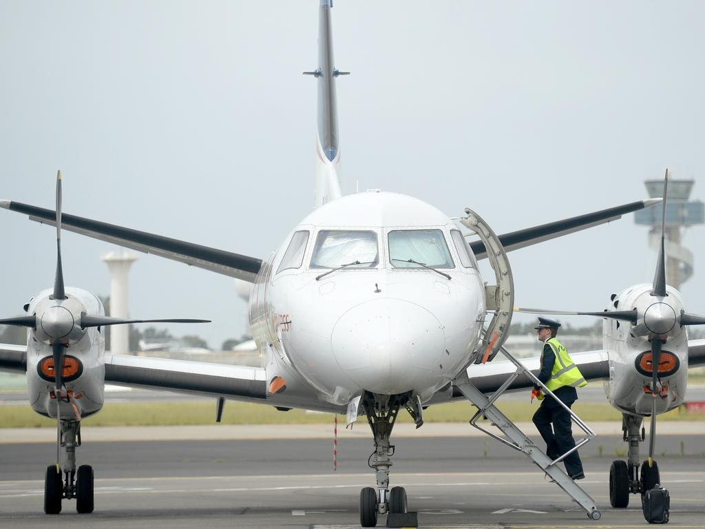 SYDNEY, AUSTRALIA - NewsWire Photos DECEMBER 2, 2020.  REX (regional express) will start selling flights between Sydney and Melbourne, offering customers full service at discount prices. Picture: NCA NewsWire / Jeremy Piper
