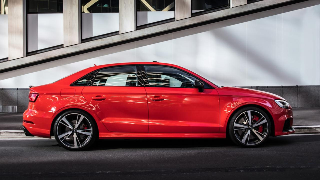 Subdued looks is part of the Audi's appeal.