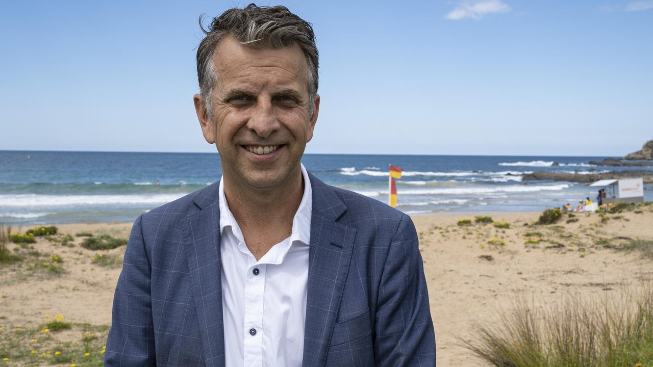 Receiving the blessing of PM Scott Morrison to try his hand at federal politics saw Andrew Constance remove himself as a competitor to Dominic Perrottet. Picture: Martin Rainer Helmreich
