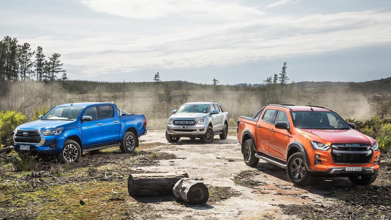 Utes continue to power the Aussie new car market. Photo by Thomas Wielecki