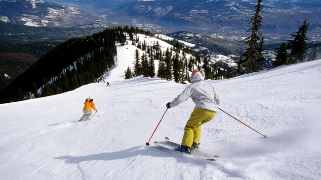 Canada is famous for its skiing but there are plenty of other winter activities to try. Source: RED Mountain.