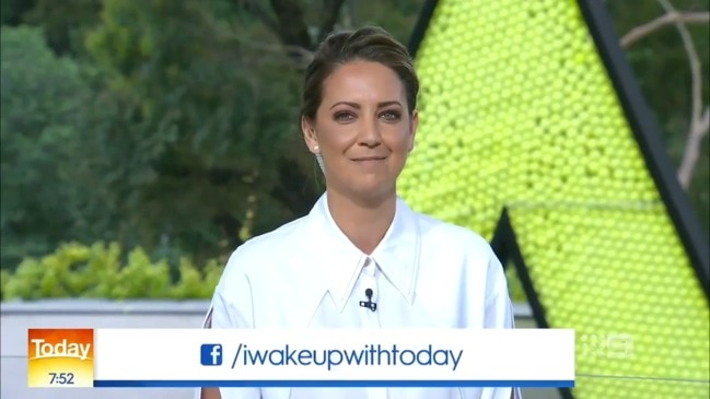 Brooke Boney's views on Australia Day (Today Show)