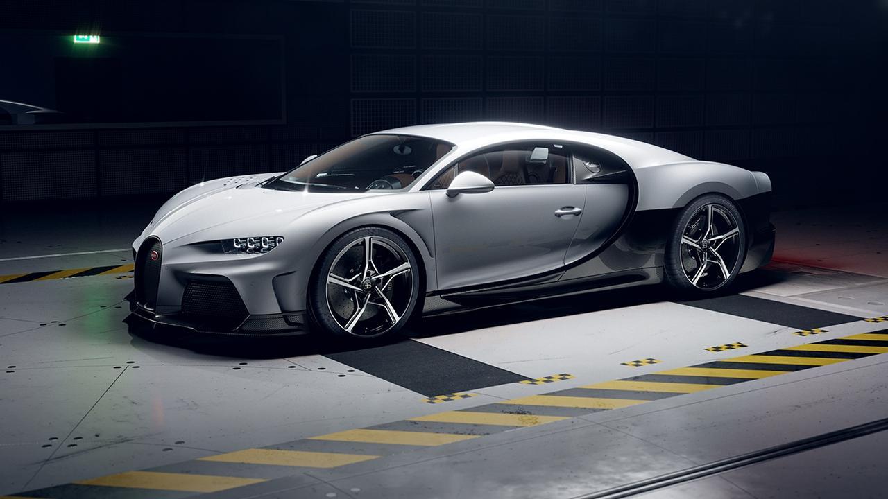 The Bugatti Chiron Super Sport will set back Aussie buyers about $7.25m.