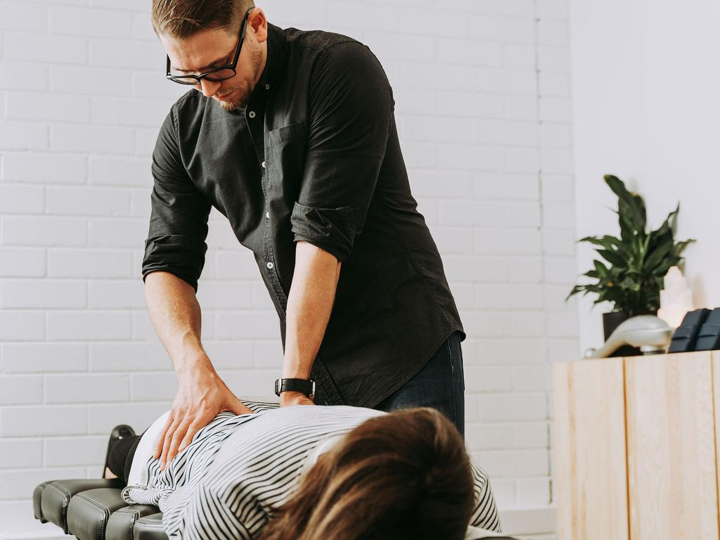 Chiropractor Dr Graham Rock found an increase in upper back and neck pains with headaches in his patients. Pictured: Supplied.
