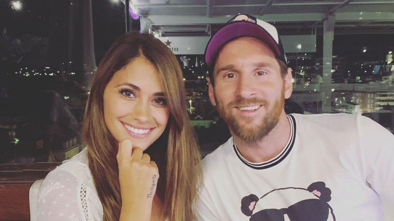 Antonella Roccuzzo: Lionel Messi's wife is one out of the box