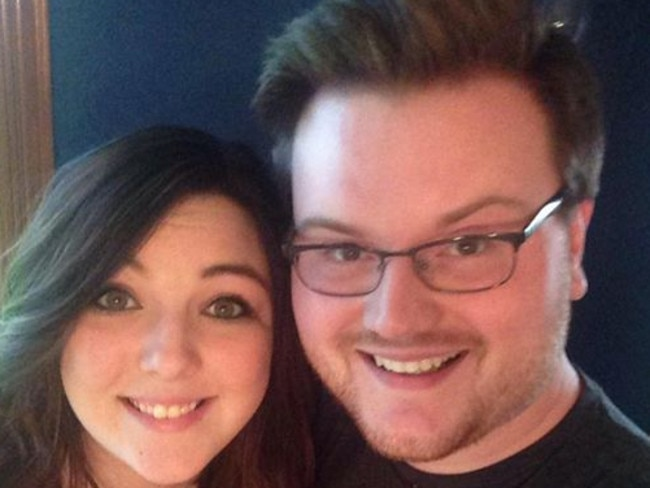 Josh Roland had told his girlfriend Taylor Hof that he had not been promoted at work and did not therefore have the money for a decent wedding. Picture: Josh Roland