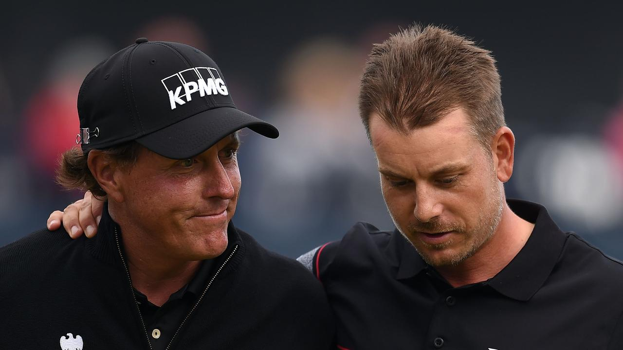 Even as a five-time major winner, there was a feeling Mickelson had been short-changed a title.