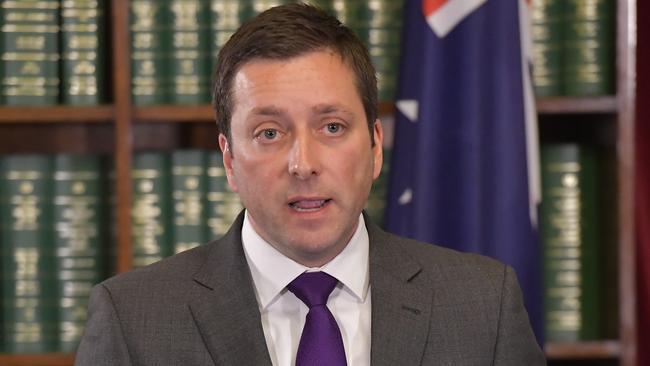 State Opposition leader Matthew Guy. Picture: Jason Edwards