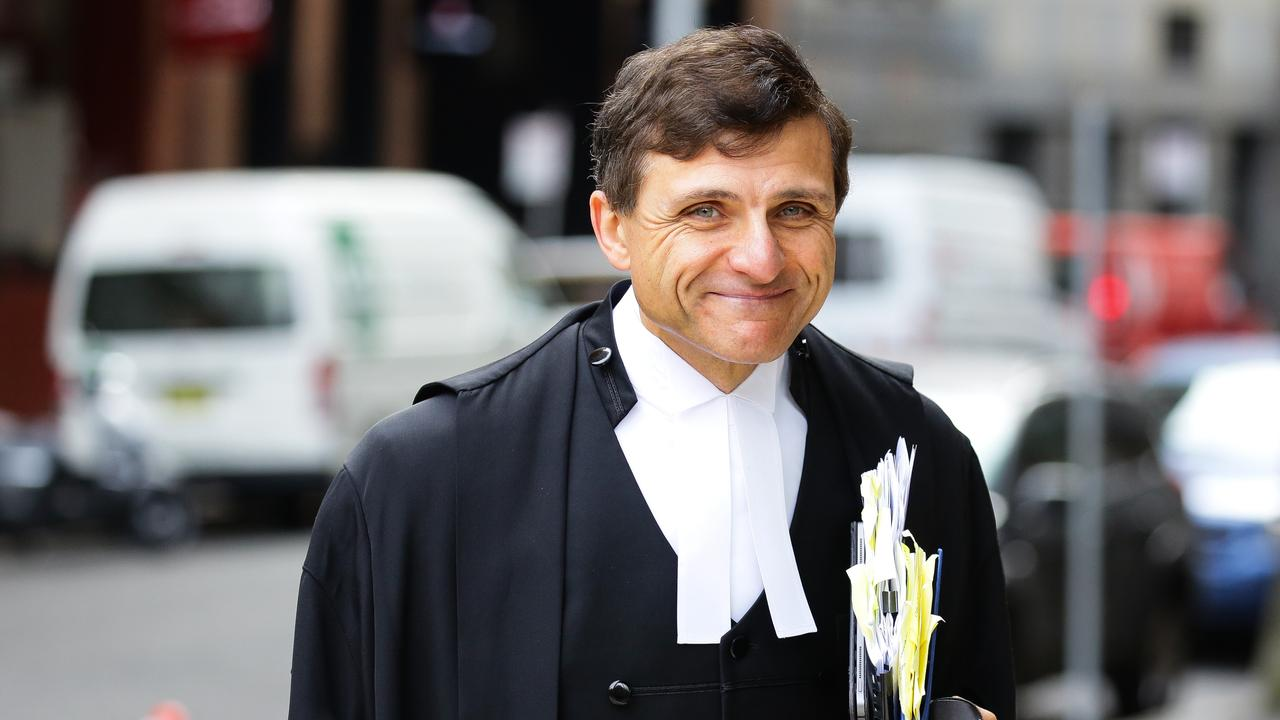 """Former president of the Law Council of Australia and NSW Bar Association, Arthur Moses SC said the role of employers in the rollout """"should not be underestimated"""". Picture: NCA NewsWire/Gaye Gerard"""